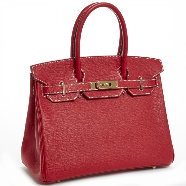 54a712dac0f1 Hermes 30cm Rouge Casaque Candy Collection Birkin Bag