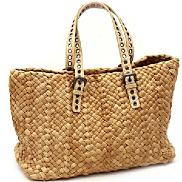 Bottega Veneta Gold Woven Cabat Bag 8ec94465107b3