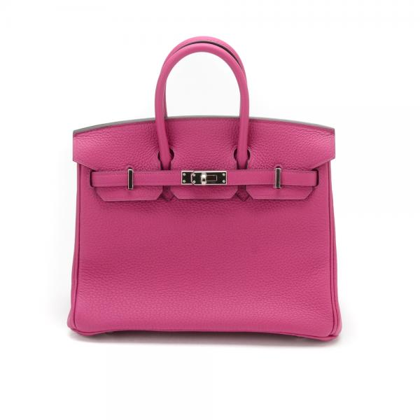 c007a5280a9d Hermes 25cm Rose Poupre Birkin Bag with Palladium Hardwa.