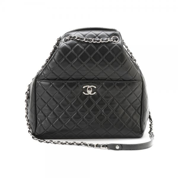 a450bec4b6b Chanel Drawstring CC Lock Medium Bucket Bag in Quilted B..