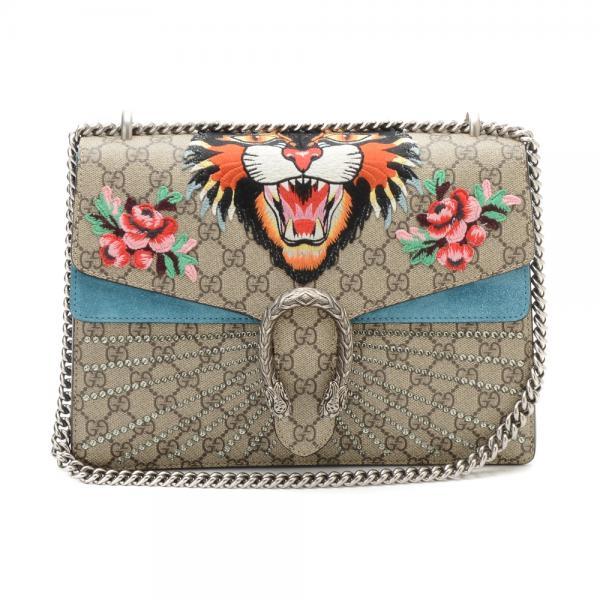 e58d1f958632 Brand New Gucci Angry Cat Dionysis Medium Shoulder Bag
